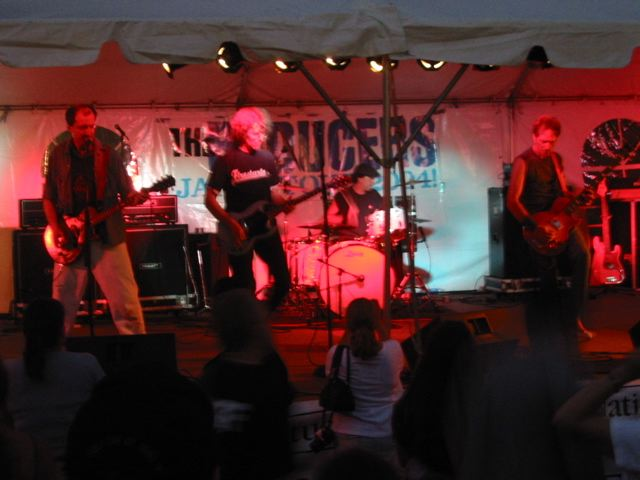 The Reducers at SailFest 2004 - Click to enlarge photo